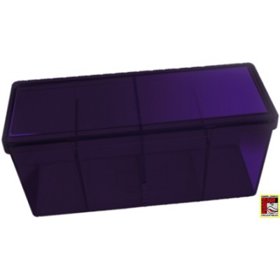 Four Compartment Box - Geel