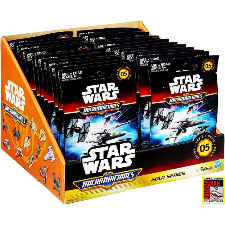 MicroMachines Star Wars Gold Series 5