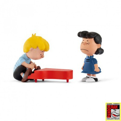 Peanuts Scenery Lucy & Schroeder 2-Pack