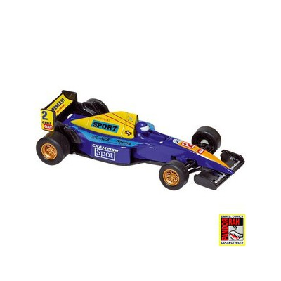 Welly Formula Racer Blauw 1:43