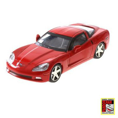 Chevrolet Corvette Z51 Coupe Rood 1:43
