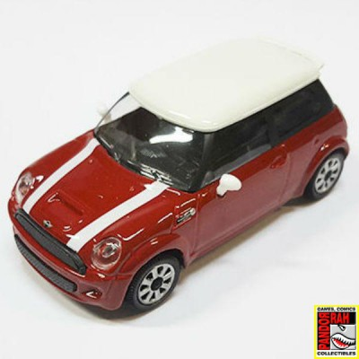 Bburago New Mini Cooper S Rood 1:43