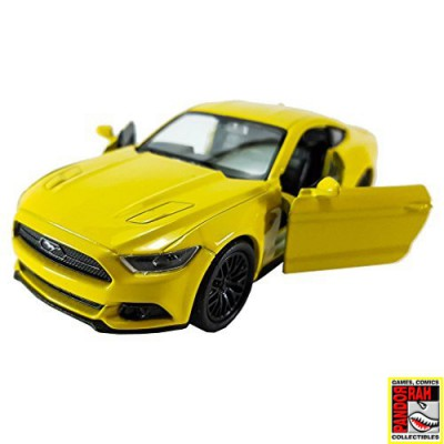 Welly 2015 Ford Mustang GT Geel 1:39
