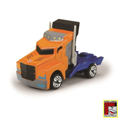 Transformers Robots In Disguise Series 1 Neon Optimus Prime