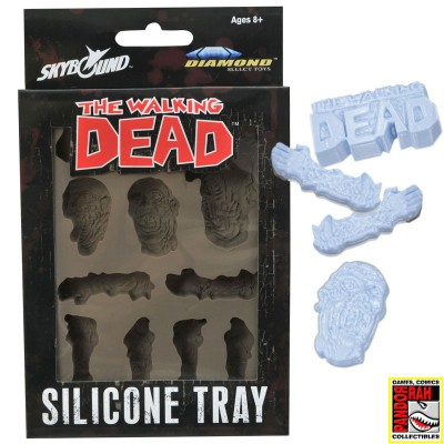 Siliconen Tray 'The Walking Dead'