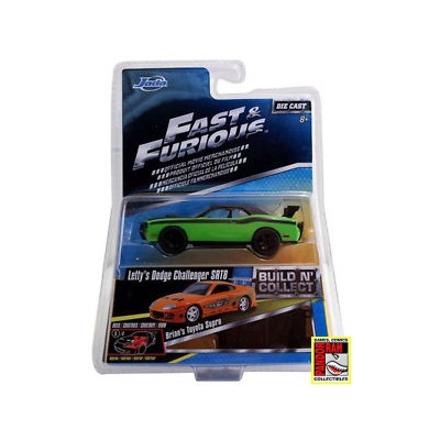 Jada Fast & Furious Build 'n Collect Wave 2 - Letty's Dodge Challenger SRT8 1:55
