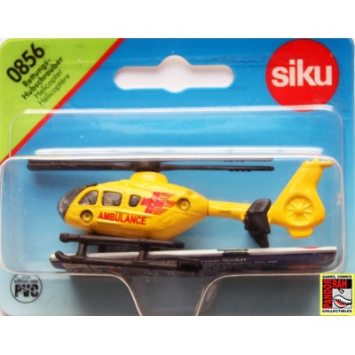 Siku 0856 Reddings Helicopter Geel 1:55