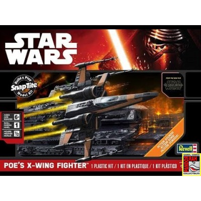 Revell Star Wars Poe's X-Wing Fighter 1:78