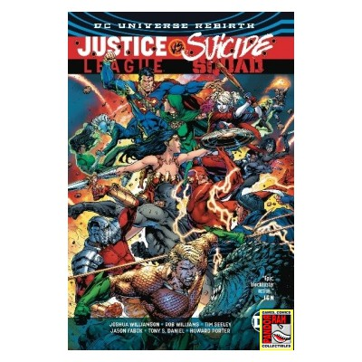 Justice League Vs. Suicide Squad TP