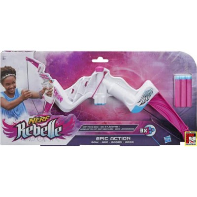 Nerf Rebelle Epic Action Boog