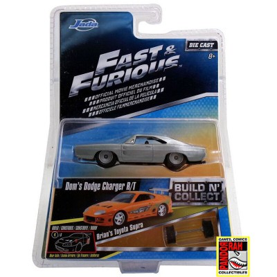 Jada Fast & Furious Build 'n Collect Wave 2 - Dom's Dodge Charger R/T 1:55