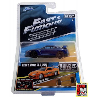 Jada Fast & Furious Build 'n Collect Wave 2 - Brian's Nissan GT-R (R35) 1:55