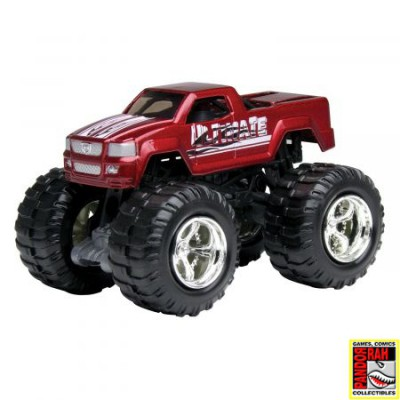 Motor Max Mighty Monsters: Monster Met. Rood 1:65