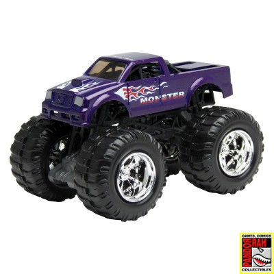 Motor Max Mighty Monsters: Monster Licht Blauw 1:65