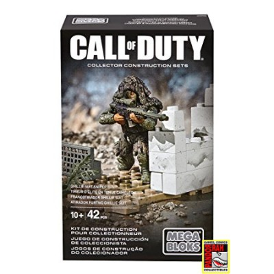 Call Of Duty: Ghillie Suit Sniper Collector Construction Set