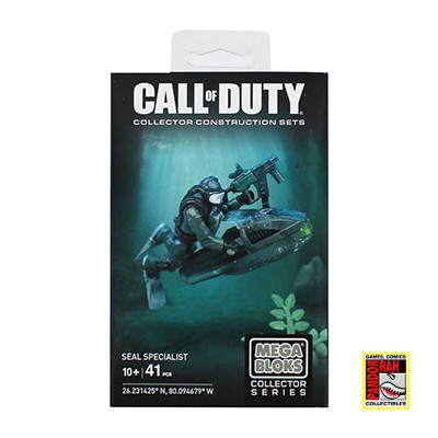 Call Of Duty: Seal Specialist Collector Construction Set