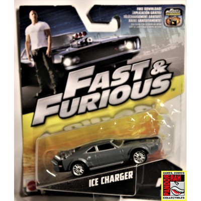 Mattel Fast & Furious 8 Ice Charger Grijs 1:55