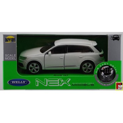 Welly Audi Q7 Wit 1:39