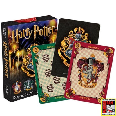 Harry Potter Speelkaarten Rood