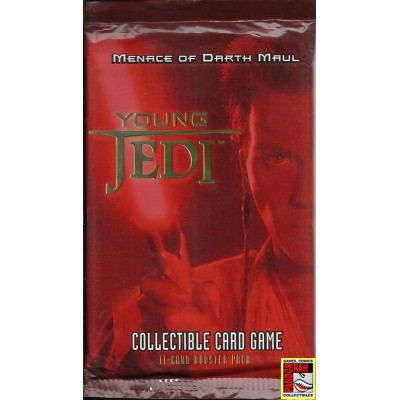 Star Wars Young Jedi Menace Of Darth Maul Booster Pack