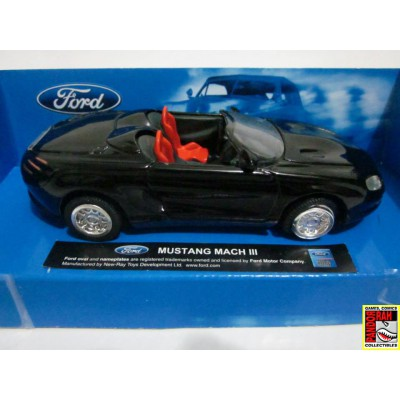 New Ray Ford Mustang Mach III Zwart 1:43