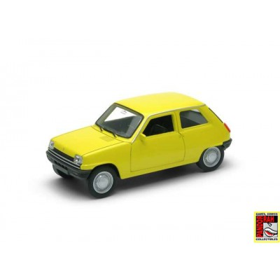 Welly Renault 5 Geel 1:39