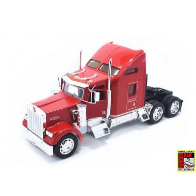 Welly Kenworth W900 Rood 1:32