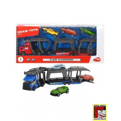 Dickie Toys Car Carrier Set...