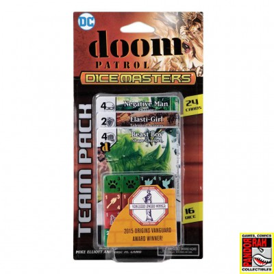 DC Comics Dice Masters Doom...