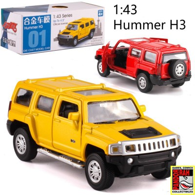 Caipo Hummer H3 Rood 1:43