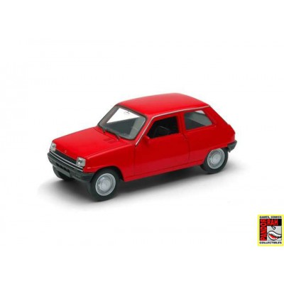 Welly Renault 5 Rood 1:39