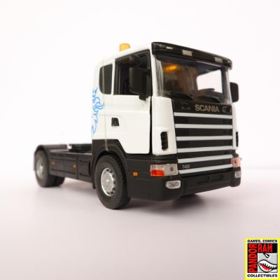 Scania T420 Wit 1:43...