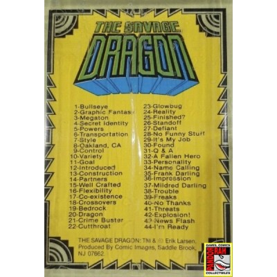 Comic Images The Savage Dragon 1992 Complete Set Trading Cards