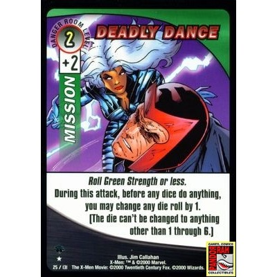 X-Men Trading Card Game Deadly Dance