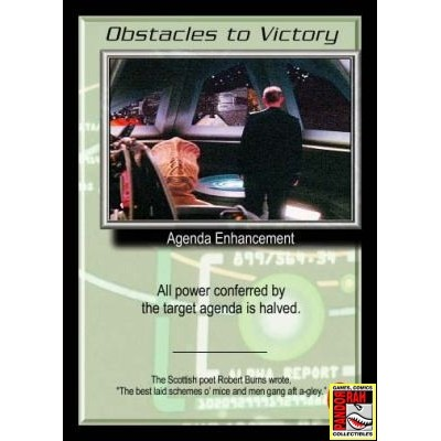 Babylon 5 Trading Card Game Obstacles To Victory