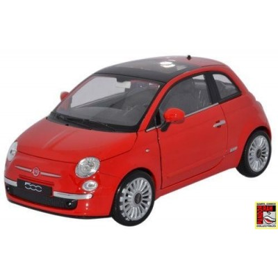 Welly Fiat 500 Rood 1:39