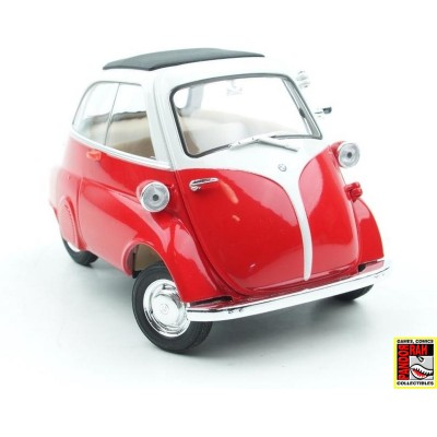 Welly BMW Isetta Rood-Wit 1:39